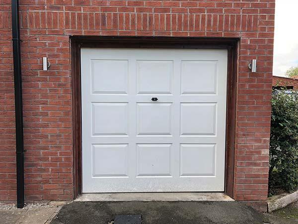 Roller Garage Door Before